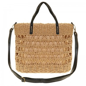 Wicker handbag - shoulderbag , handmade