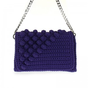 handmade woven shoulder bag medium Αντίκλεια