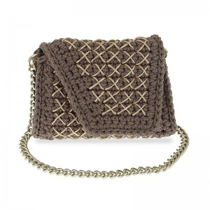handmade woven shoulder bag small Δηϊάνειρα