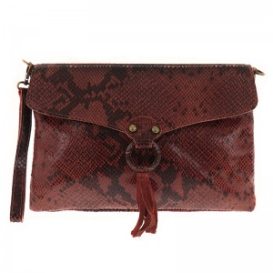 Quilted Leather Bag Hand